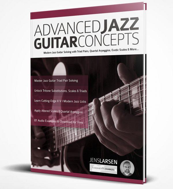 Advanced Jazz Guitar Concepts 3d book image
