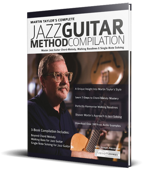 Martin Taylor Jazz Guitar Compilation Cover