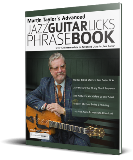 Martin Taylor's Advanced Jazz Guitar Licks Phrase Book