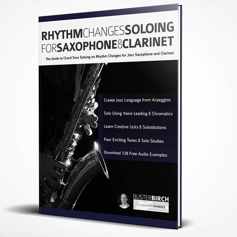 Rhythm Changes Soloing Sax web