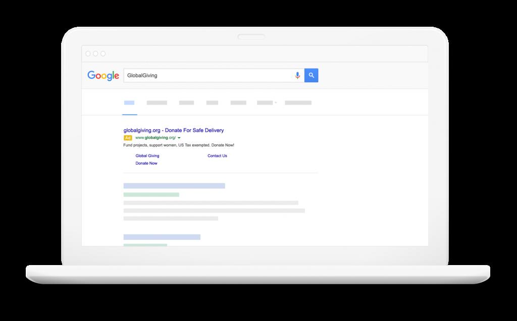 Google Ad Grants for non-profits
