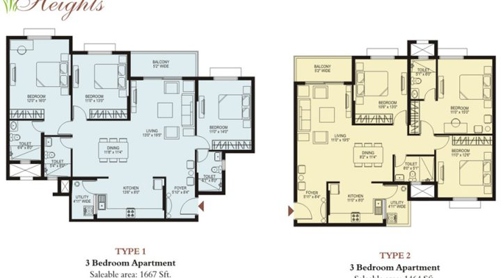 Green Shades floorplan 3