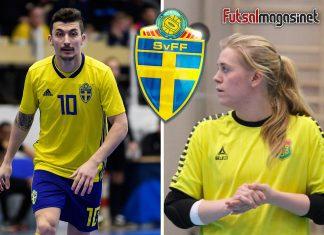 Petrit Zhubi och Hilma Lundqvist