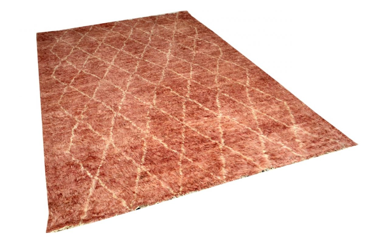 red-shag-area-rugs