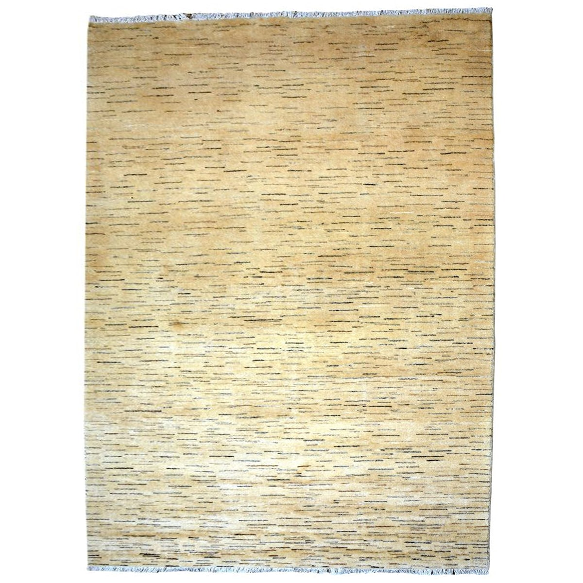 yellow Wool rug