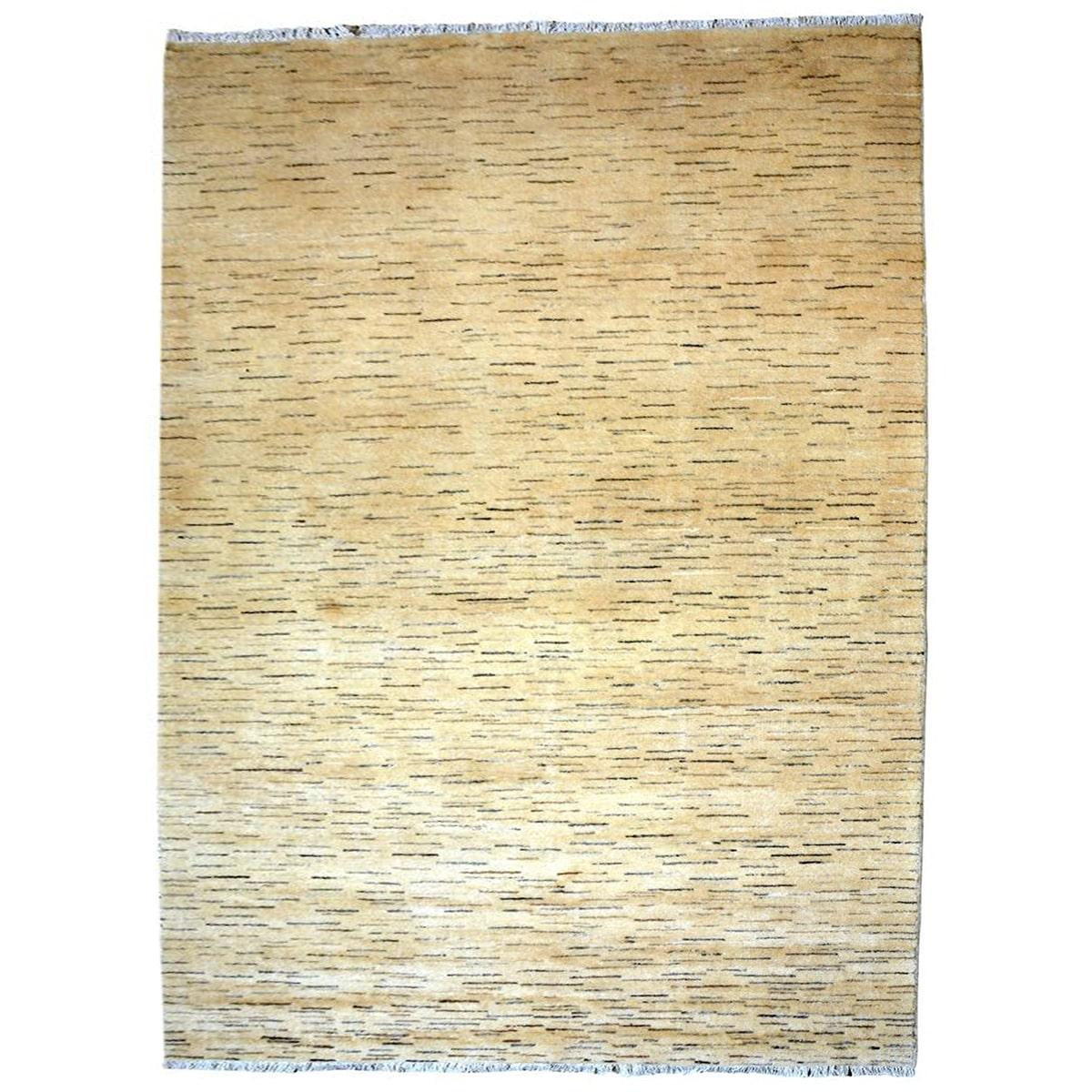 yellow Wool rug