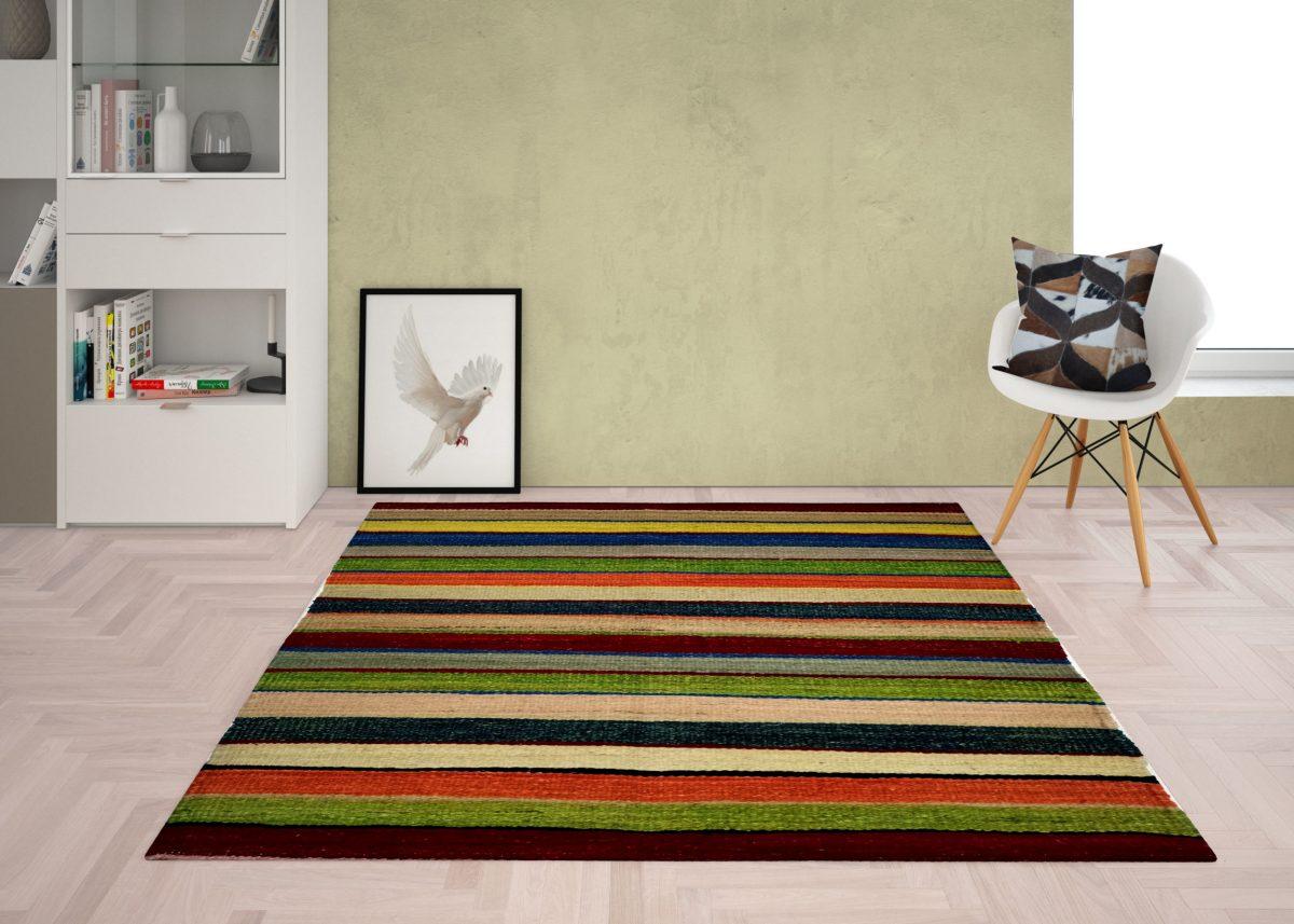 bed side kilim rug