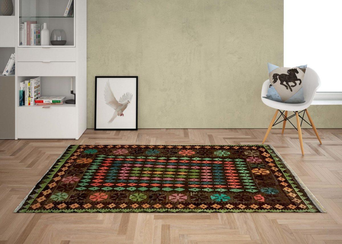 kilim living room rug