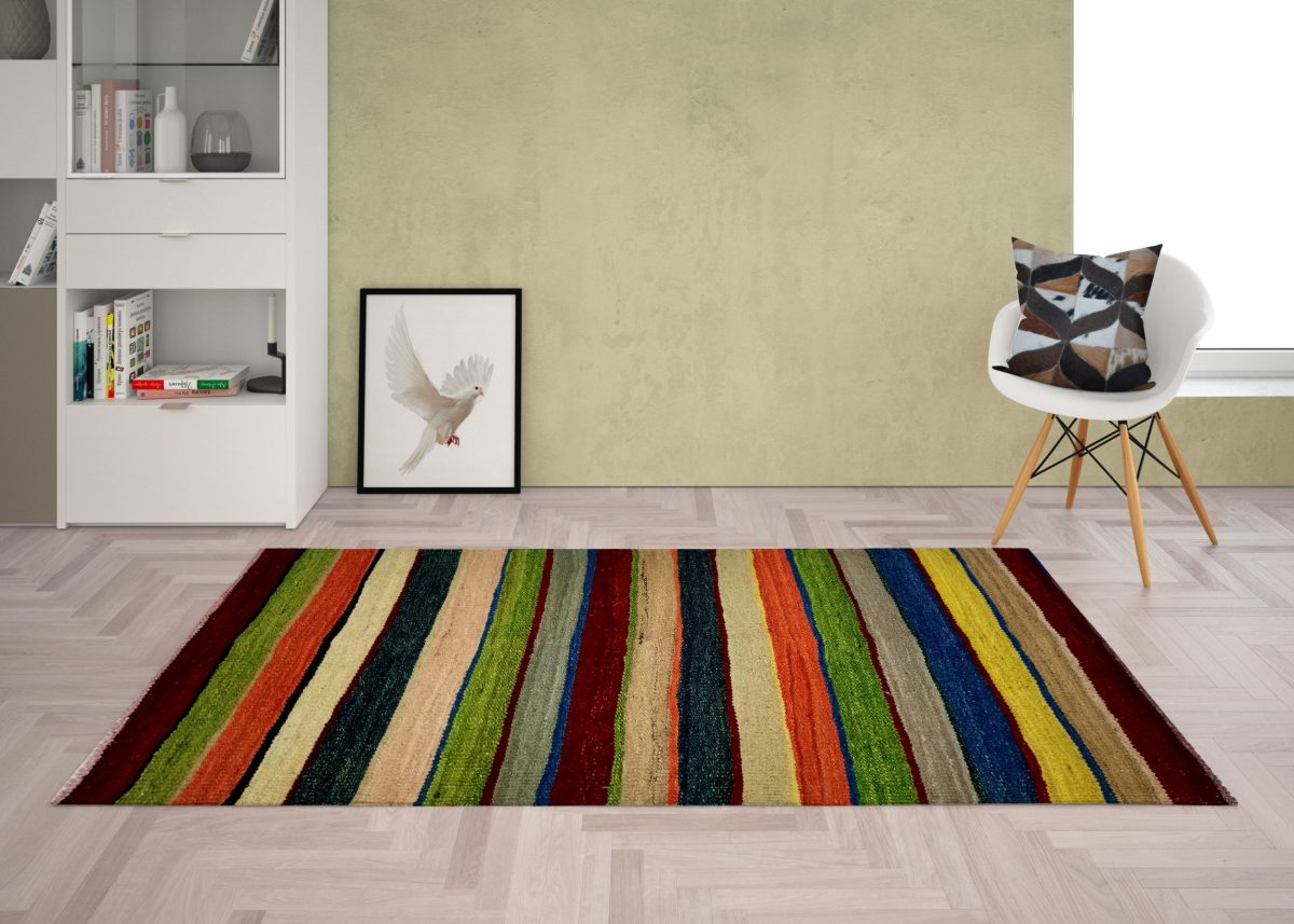 multi color and lining pattern
