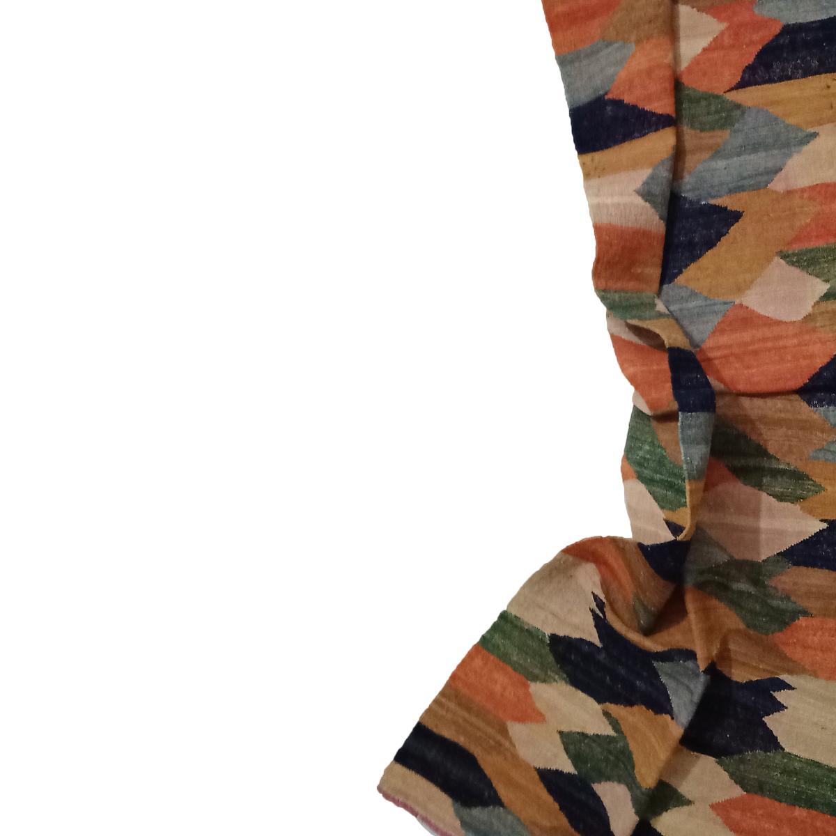 geometriskt mönster-kilim