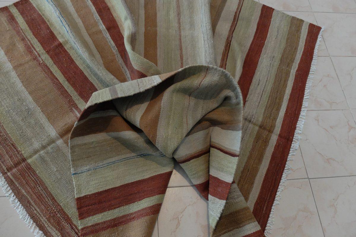 afghan stripped kilim mat