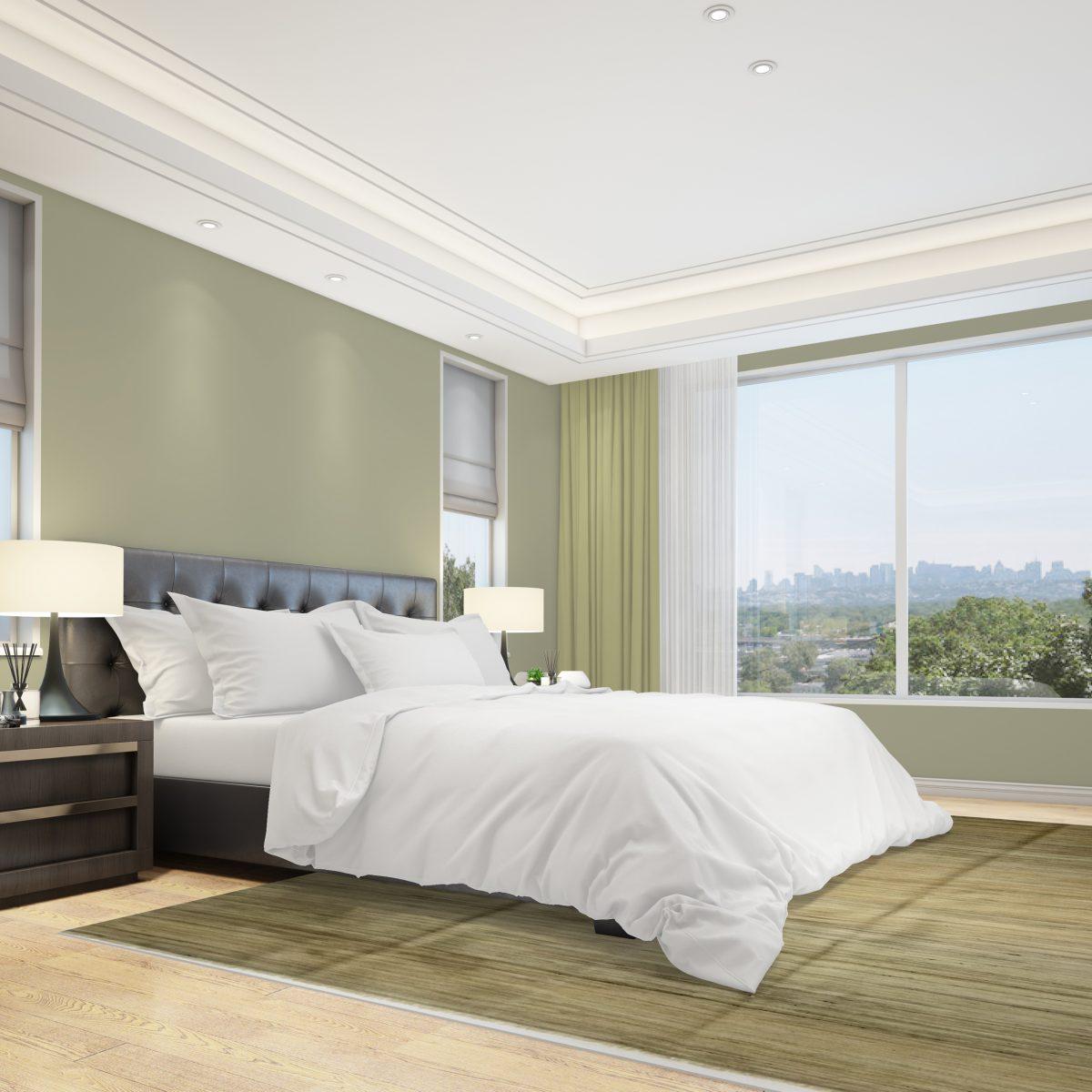 Schlafzimmerbereich Kelim