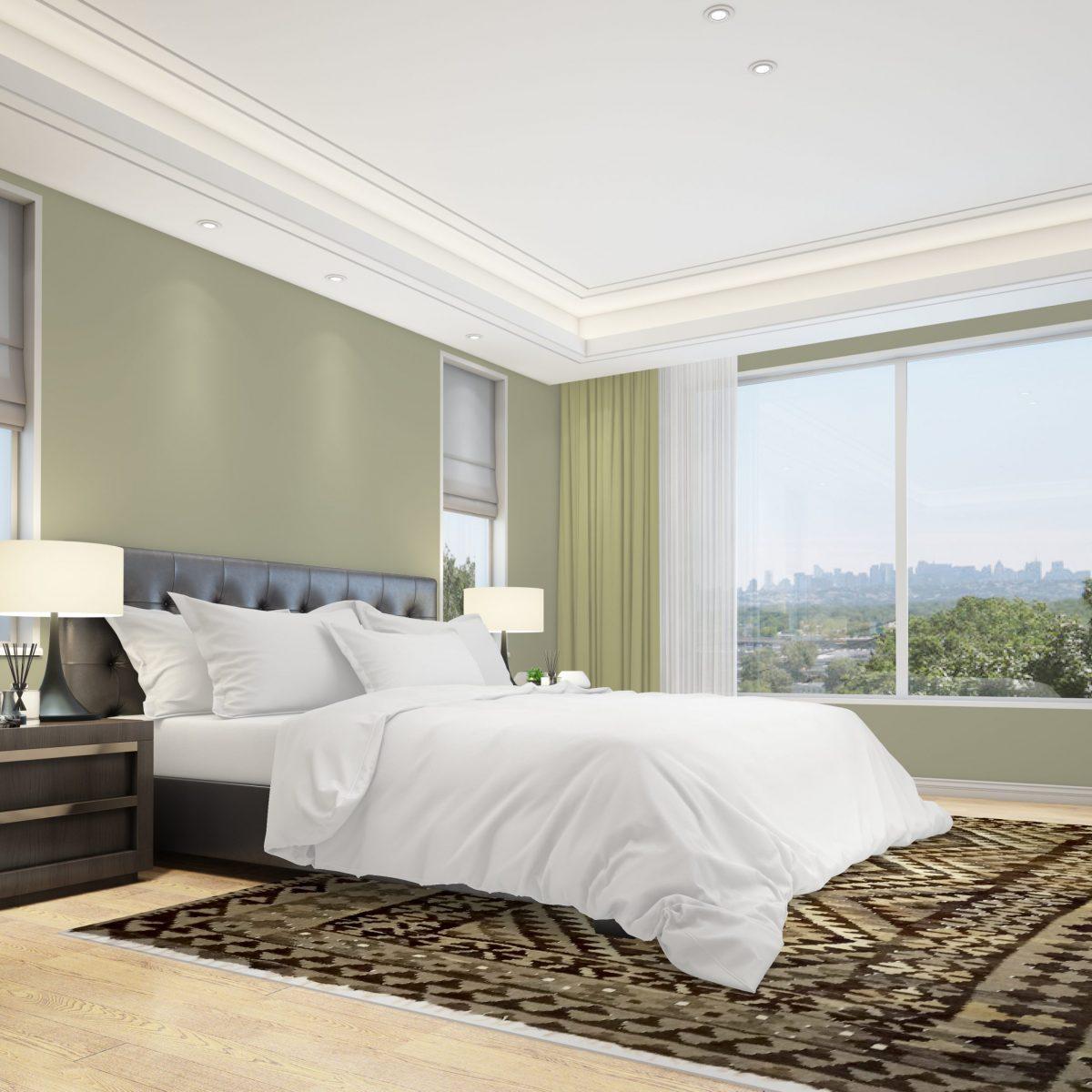 Schlafzimmer orientalischer Kelim
