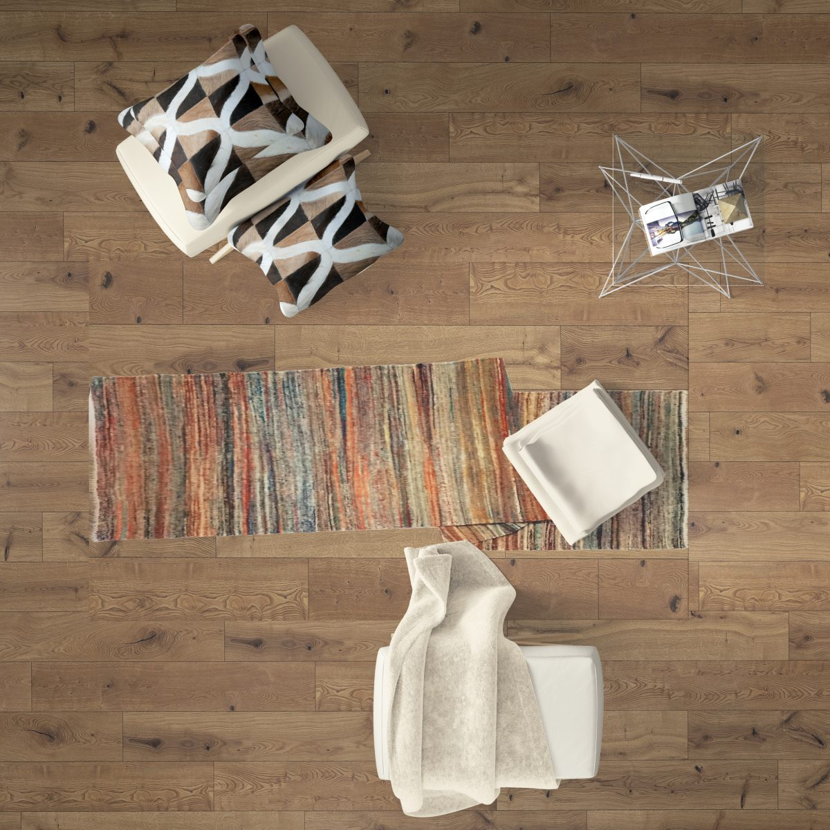 linie design madera matta löpare