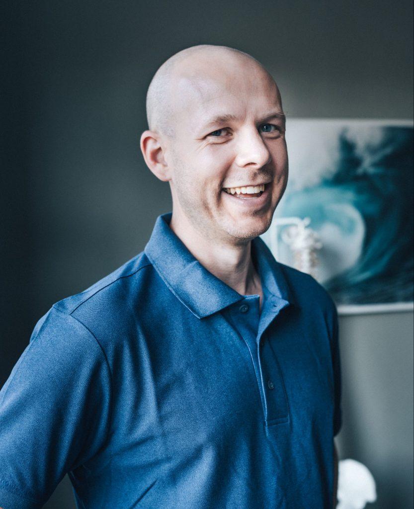 Fysioterapeut Wictor Borgström