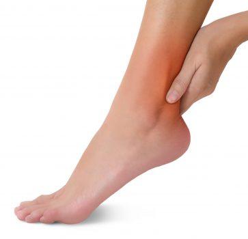 Smerter i hælen grunnet akilles senebetennelse