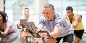 Illustratie van fitness bij Fysiotherapie Veldhoven Zuid