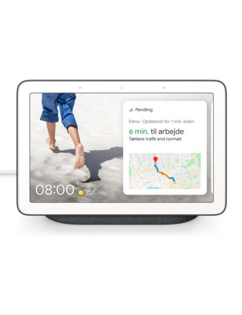 Google Nest Hub - Kalkhvid (Nordisk Version)