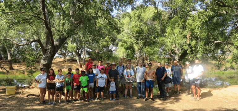 Desarrollada la primera actividad de voluntariado dentro del Programa de Voluntariado Ambiental en Ríos y Playas, en colaboración con la Fundación Biodiversidad.