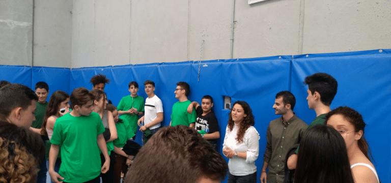 Acudimos a una Jornada de Educación para jóvenes con dificultades en el centro YMCA de Getafe