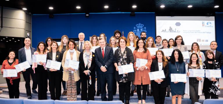 GAIA recibe junto a 53 iniciativas el reconocimiento de FORETICA dentro de las jornadas empresariales del #FuturoDelTrabajo como una de las mejores soluciones empresariales