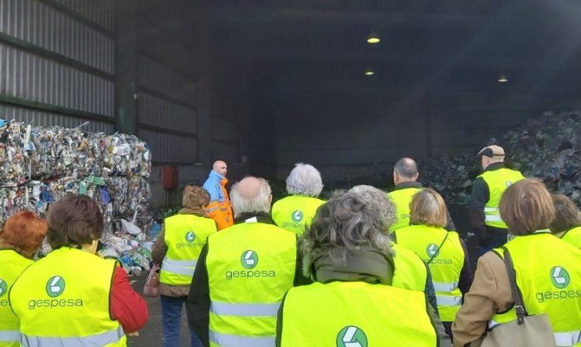 GAIA continua desarrollando el Programa de Sensibilización Ambiental de Reciclaje para Mayores visitando el Ecoparque de Mérida