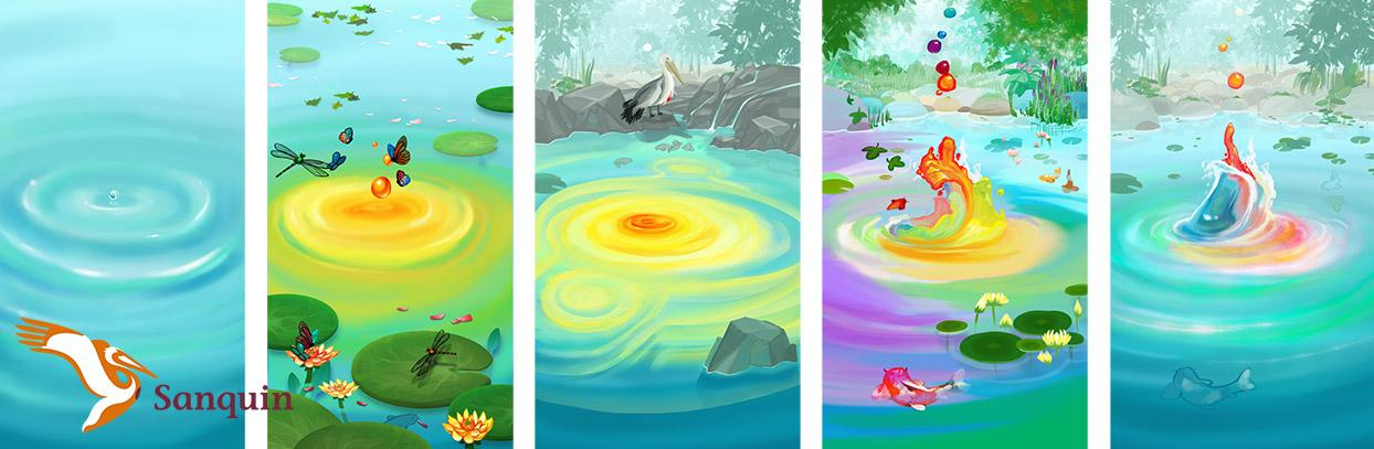 Watertuin Concept Art