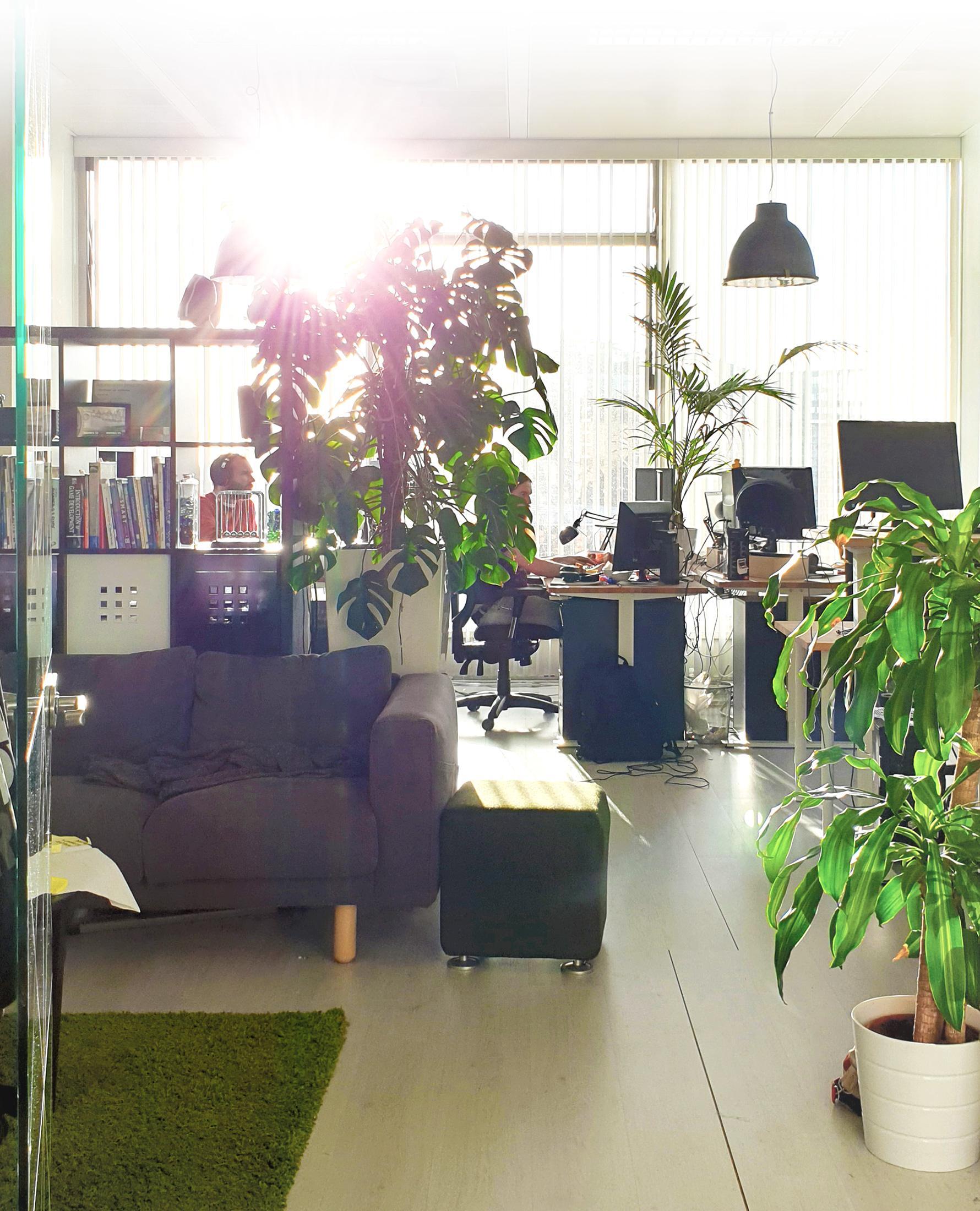 De studio van GainPlay