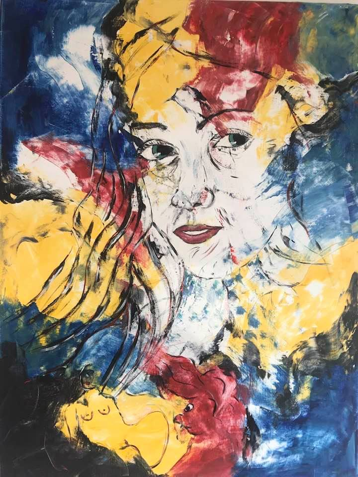 Tom Boes ekspresive kunst i galleri Skagen