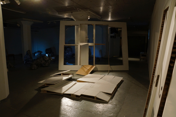 Wunderkammer / Anssi Pulkkinen: Cut-outs (Unexpected answers I-III) (Curator & image: Ville Laaksonen)