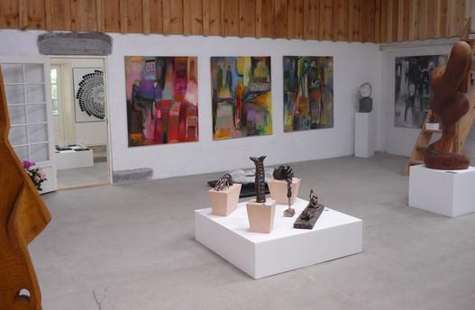 Galleri Samsø. Skulpturværkstedet på Samsø ved Lea Grau