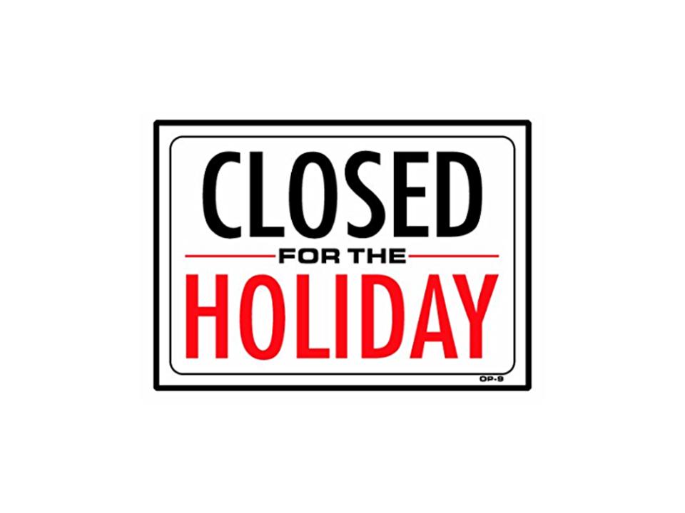 gesloten-vakantie