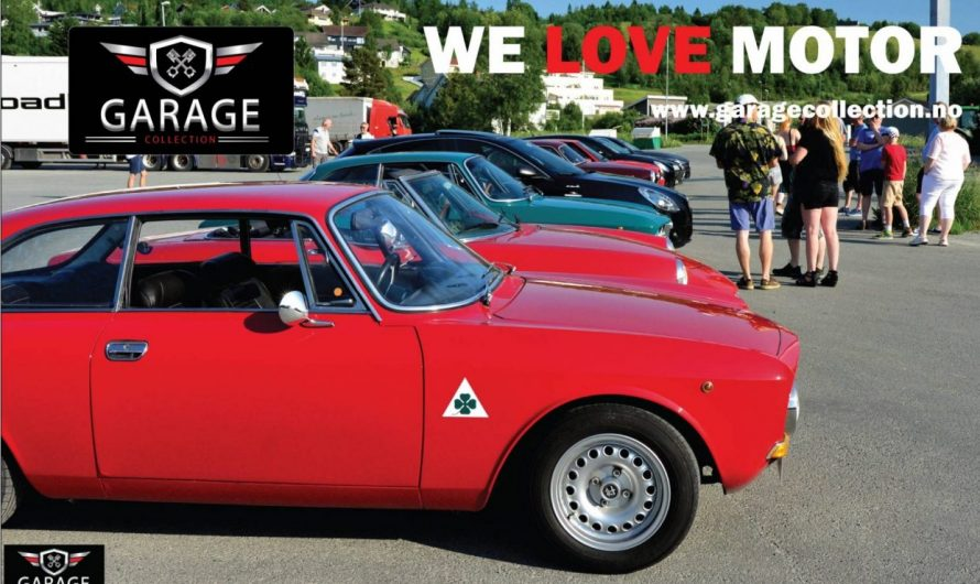 Collection Garage ble med Alfa Romeo avdeling Trøndelag på 110 års luftetur