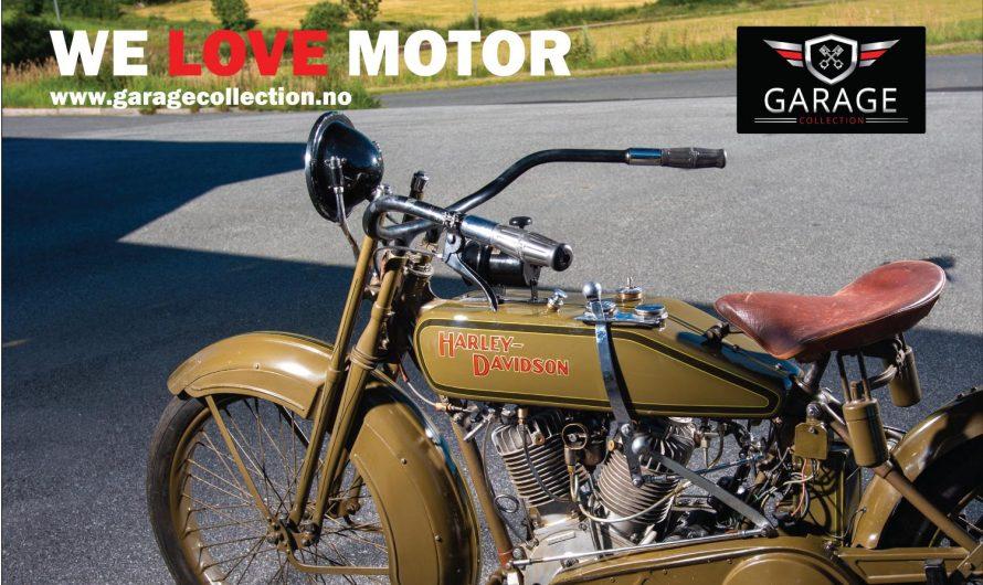 """Harley-Davidson 1919  modell """"F"""""""