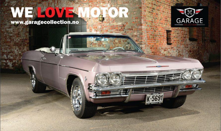 Oii se den fargen! 1965 Chevrolet Impala med fargen Evening Orchid