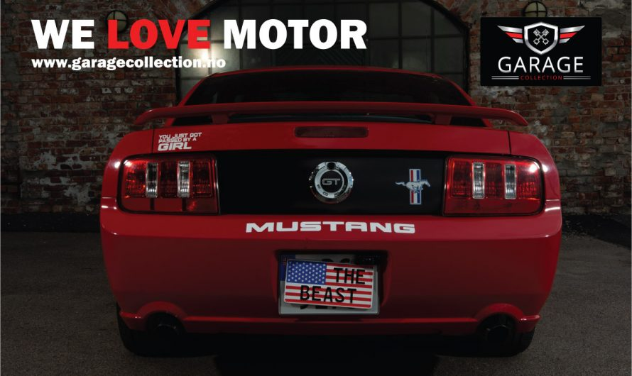 The Beast – Ford Mustang GT 2005 modell Torch Red