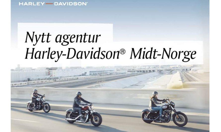 Big Twin Trondheim har fått agenturet på Harley-Davidson