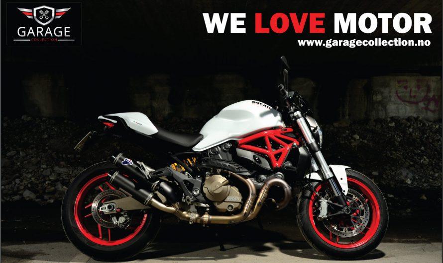 Ducati Monster 821 – 2016 modell