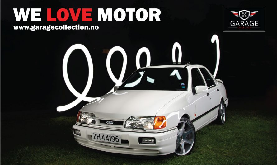 Ford Sierra Cosworth Excutive 1989 modell