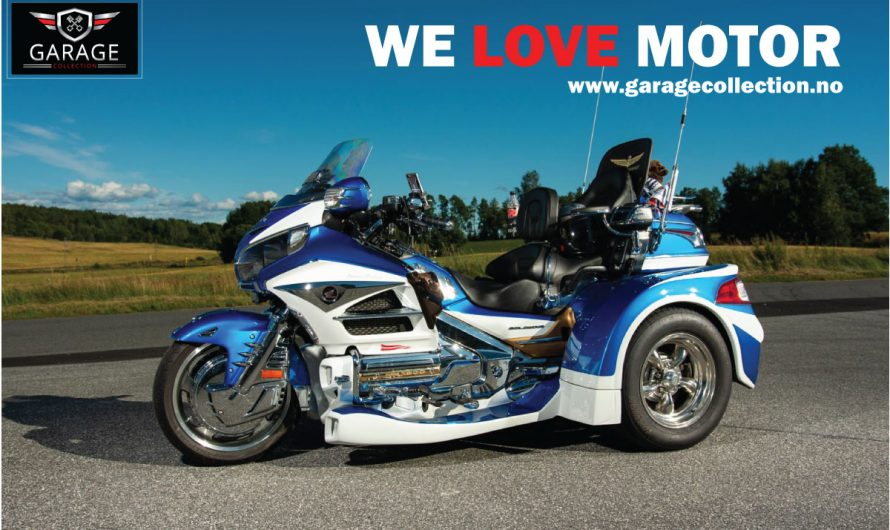 Honda (Trike) Goldwing 1800  – 2012 modell