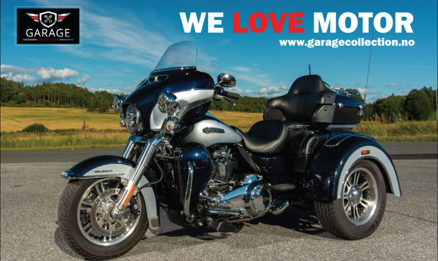Harley-Davidson Tri Glide Ultra 114 , 2019 modell