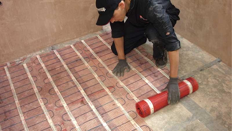 Electric-under-Floor-Heating-Under-Tiles-Engineered-Oak-Flooring-Garforth-Garforth-Howdens-Oak-Flooring-Electrical-Ltd-0113-2863811