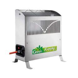 Gasolvärmare med termostat