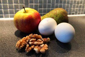 Ägg, frukt och nötter - Proaktify