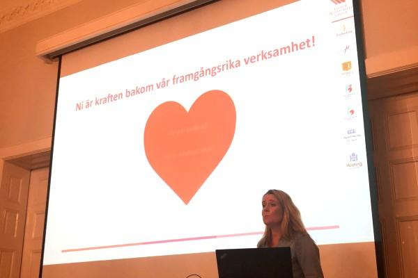 Åsa Måård valde Gå Svårt till sin personal