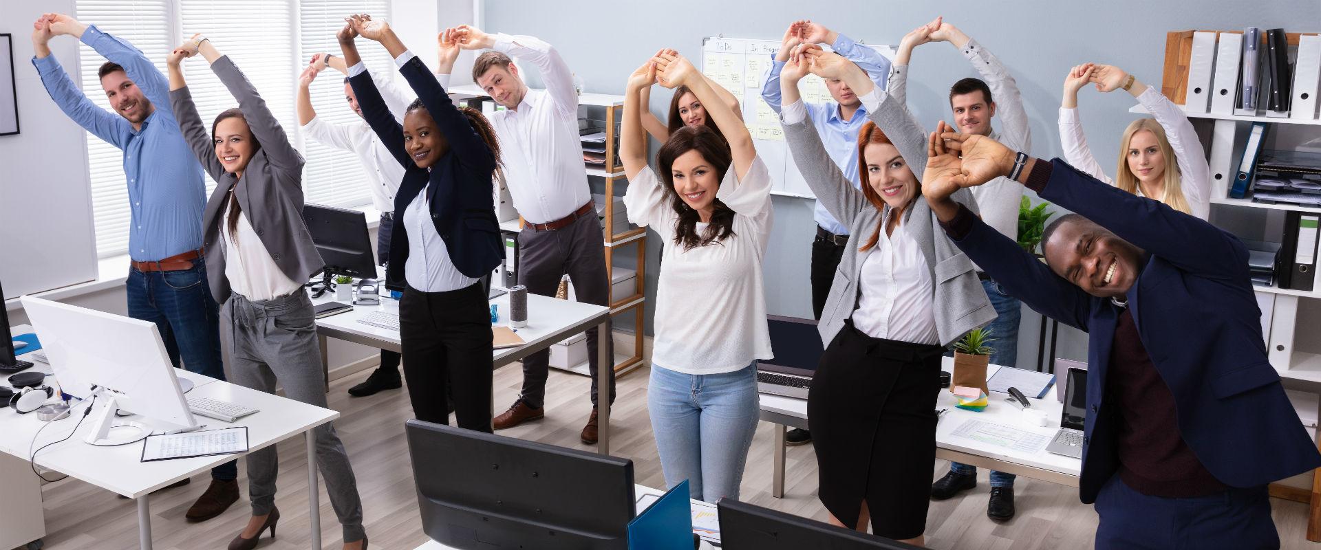 Inspiration till friskvård med Gå Svårt på kontoret