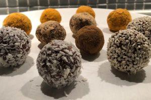 Chokladbollar med topping - Proaktify