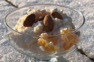 Risalamalta med vaniljkeso - Proaktify