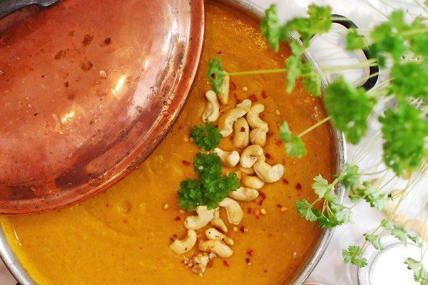 Recept på Curry-linssoppa i Gå Svårt