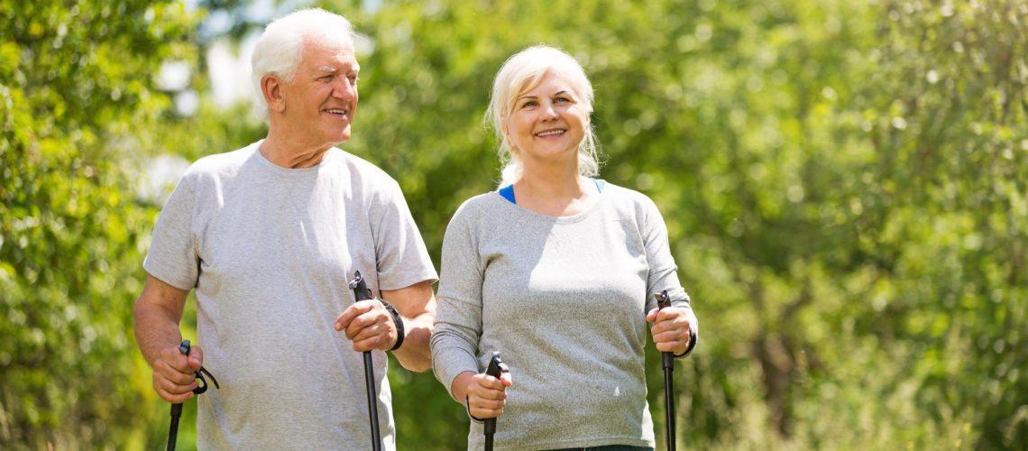 Gå svårt en träningsapp för äldre